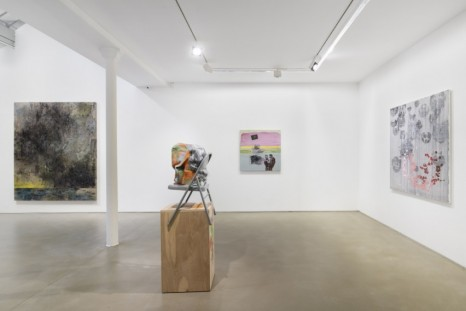 Monika Baer, Jana Euler, Rachel Harrison, Jacqueline Humphries, Walter Price..., Greene Naftali at Galerie Chantal Crousel: