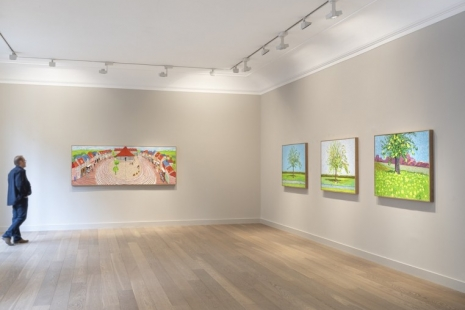 David Hockney, Ma Normandie, Galerie Lelong & Co.