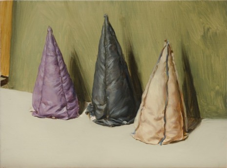 Michaël Borremans, Coloured Cones, Zeno X Gallery