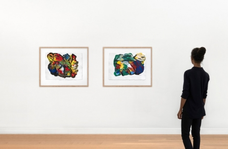 Karel Appel, On paper (1995-2000), Galerie Lelong & Co.