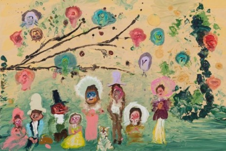 Genieve Figgis, Imaginary Friends, Almine Rech