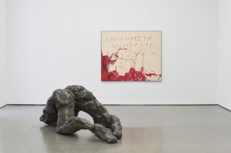 Tracey Emin, Living Under the Hunters Moon, White Cube
