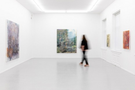 Hanneline Røgeberg, To the Ground / Paintings, Galleri Riis