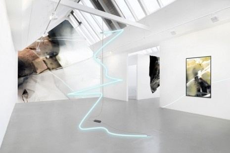 Astrid Busch, Paul Schwer, Volatile images, fluid spaces, Galerie Barbara Thumm