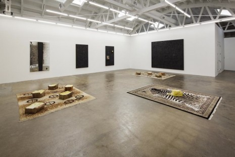 Rashid Johnson, Coup d'état, David Kordansky Gallery