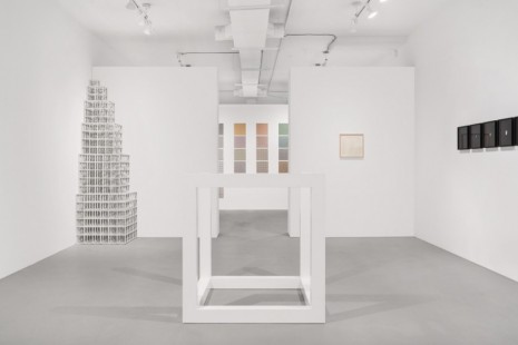 Sol LeWitt, Cubic Forms, Paula Cooper Gallery