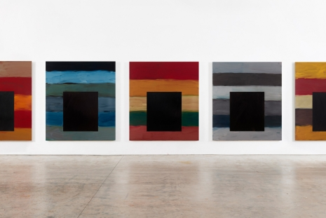 Sean Scully, The 12 / Dark Windows, Lisson Gallery