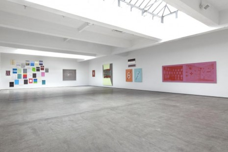 Group show, Walid Raad & David Diao, Paula Cooper Gallery