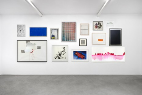Hicham Berrada, Daniel Buren, Latifa Echakhch, Michel François, Douglas Gordon..., Works on paper – Abstraction, kamel mennour