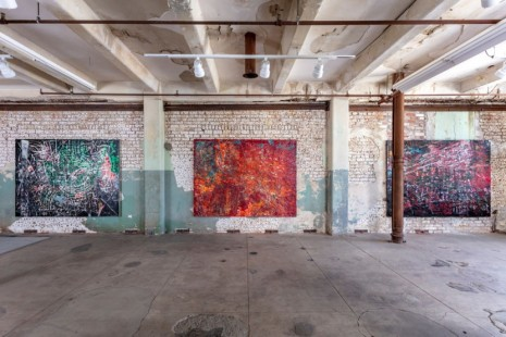 Mark Bradford, Quarantine Paintings, Hauser & Wirth