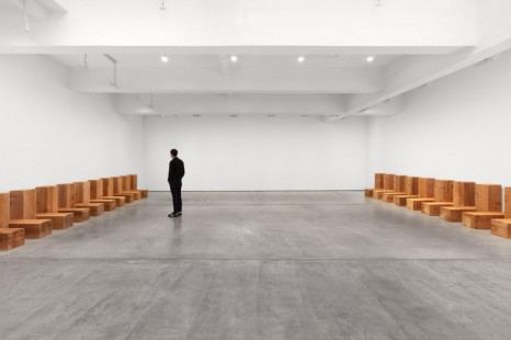 Carl Andre, Meg Webster, Carl Andre and Meg Webster, Paula Cooper Gallery