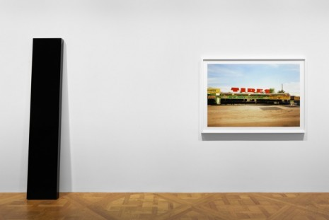 William Eggleston, John McCracken, William Eggleston and John McCracken: True Stories , David Zwirner
