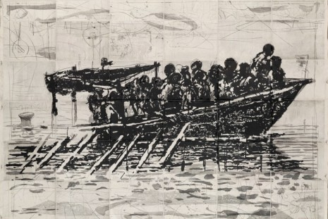 William Kentridge, Making Prints: Selected Editions 1998–2020, Marian Goodman Gallery
