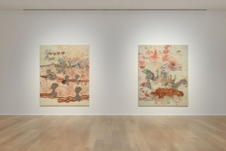Ellen Gallagher, Ecstatic Draught of Fishes, Hauser & Wirth