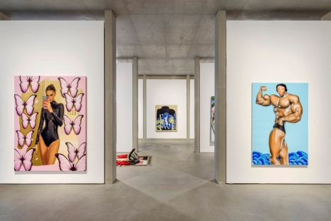 Trey Abdella, Ai-Da, Gretchen Andrew, Daniel Arsham, Banz & Bowinkel..., THE ARTIST IS ONLINE. PAINTING AND SCULPTURE IN THE POSTDIGITAL AGE, König Galerie