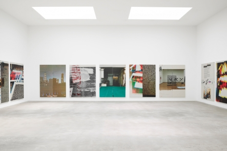 Wade Guyton, The Undoing, Matthew Marks Gallery