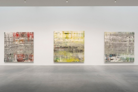 Gerhard Richter, Cage Paintings, Gagosian