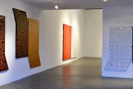 Ed Moses, New Works: The Crackle Paintings, Patrick Painter Inc.