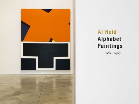 Al Held, Alphabet Paintings, Cheim & Read
