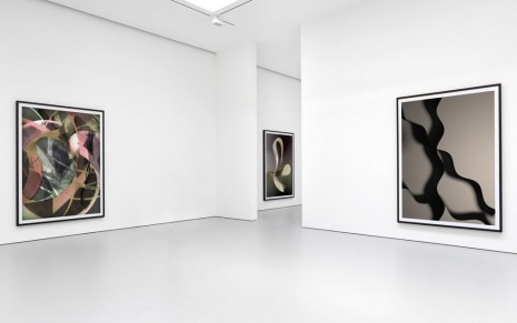 Thomas Ruff, photograms and ma.r.s., David Zwirner