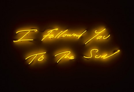Tracey Emin, I Followed You To The Sun, Lehmann Maupin