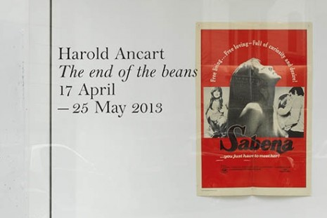 Harold Ancart, The end of the beans, Xavier Hufkens