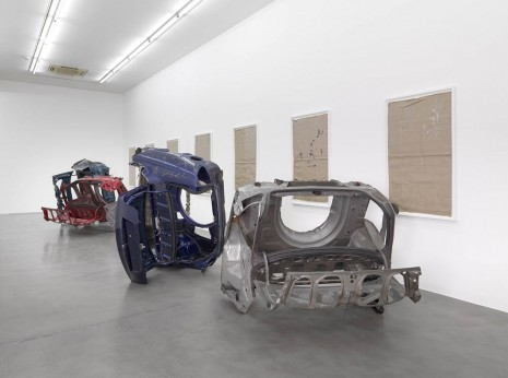Matias Faldbakken, Sacks/Trunks, Simon Lee Gallery