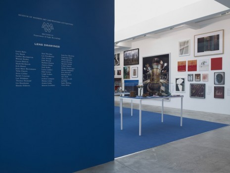 Lewis Baltz, Uta Barth, Lothar Baumgarten, Walead Beshty, Lucas Blalock..., Museum of Modern Art and Western Antiquities Department of Light Recordings, Section IV : Lens Drawings, Marian Goodman Gallery