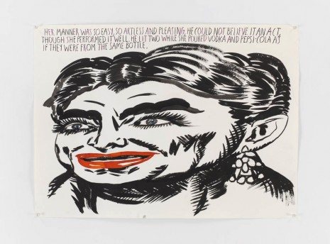 Raymond Pettibon, To Wit, David Zwirner