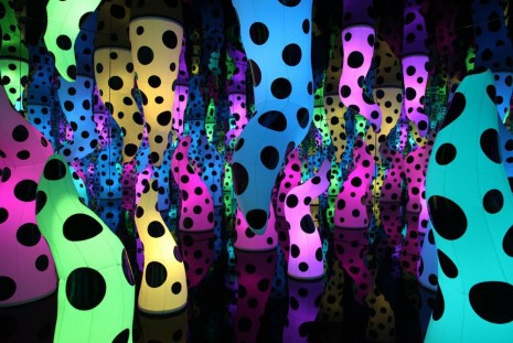 Yayoi Kusama, I Who Have Arrived In Heaven, David Zwirner