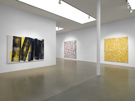 Group show, Hantaï - Hartung - Soulages - Tàpies, Timothy Taylor