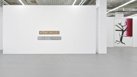Group show, REMEMBER EVERYTHING: 40 Years Galerie Max Hetzler, Galerie Max Hetzler