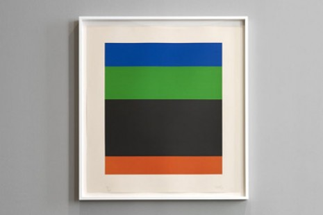 Ellsworth Kelly, Twelve colour prints from the artist's own collection, Ingleby Gallery