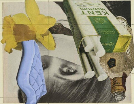 David Salle, Collage, Mendes Wood DM