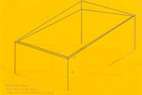 Donald Judd, Working Papers: Donald Judd Drawings 1963 - 93, Sprüth Magers