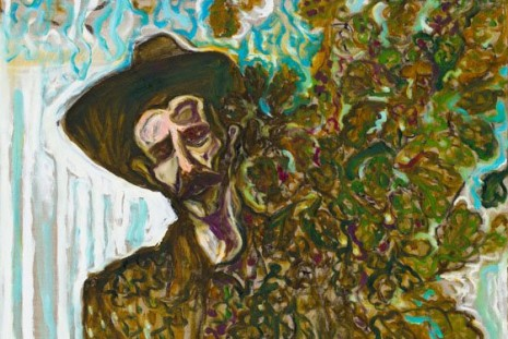 Billy Childish, edge of the forest, Lehmann Maupin