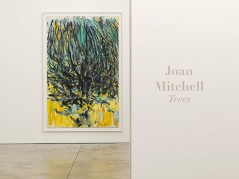 Joan Mitchell, Trees, Cheim & Read