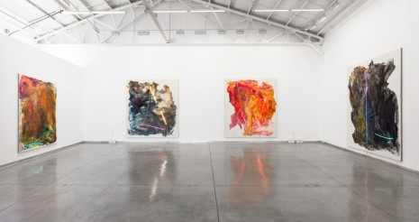 Mary Weatherford, Los Angeles, David Kordansky Gallery