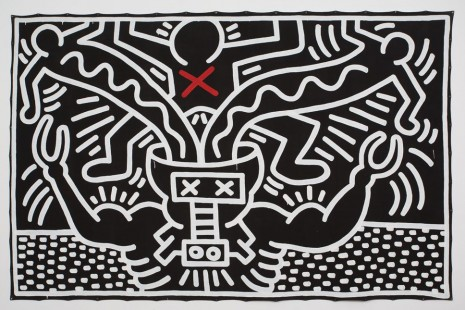 Keith Haring, , Gladstone Gallery