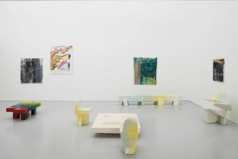 Group show, Paintings & Furniture, Kate MacGarry