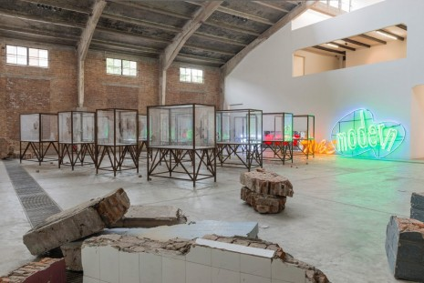 Kader Attia, Beginning of the World, Galleria Continua