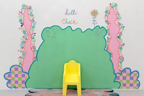 Lily van der Stokker, Hello Chair, Air de Paris