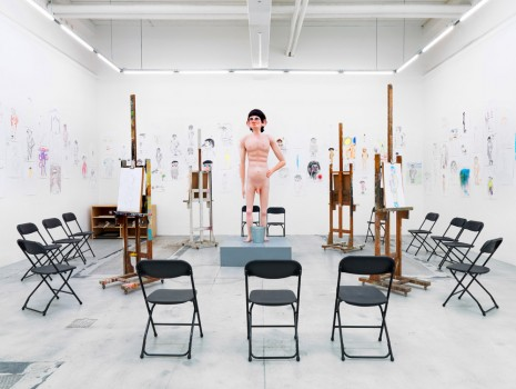 David Shrigley, Life Model, Galleri Nicolai Wallner