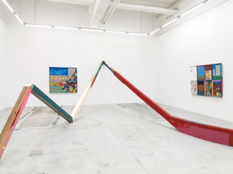 Chris Johanson, Continuity Escapes Me (My Selfishness in Los Angeles), Galleri Nicolai Wallner