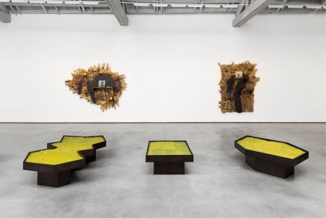 Rashid Johnson, Islands, David Kordansky Gallery