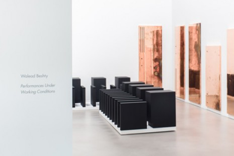 Walead Beshty, Performances Under Working Conditions, Petzel Gallery