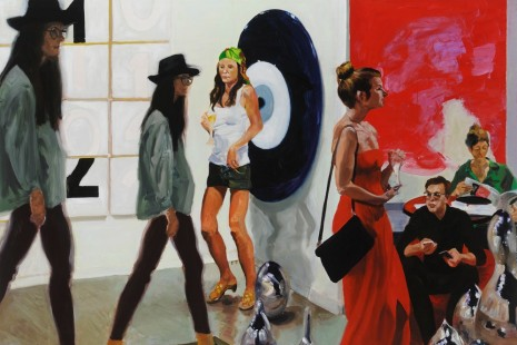 Eric Fischl, Art Fair paintings, Victoria Miro Gallery