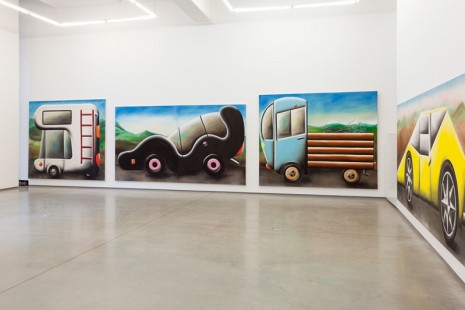 Andreas Schulze, Traffic Jam, team (gallery, inc.)