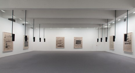 Susan Philipsz, Part File Score, Tanya Bonakdar Gallery