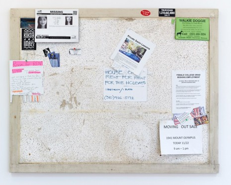 Fiona Connor, Community Notice Board, 1301PE